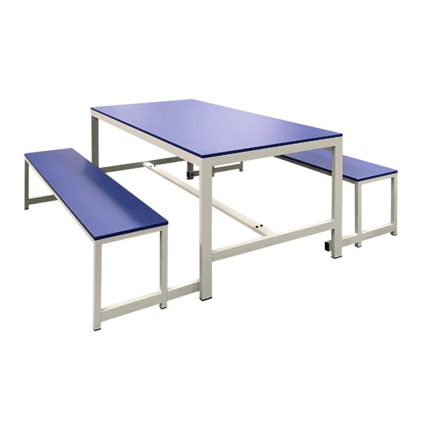 Mesas y bancos para comedor