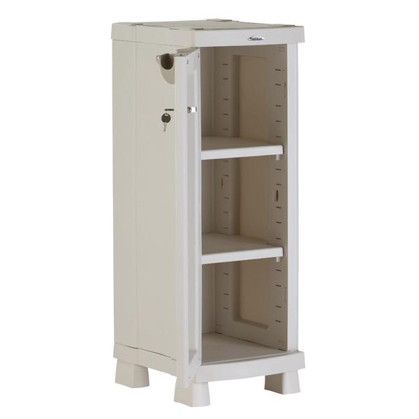 Armario escobero de resina cool armario with armario for Armario escobero para exterior